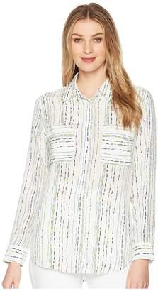 Equipment Slim Signature Long Sleeve Shirt Women's Long Sleeve Button Up