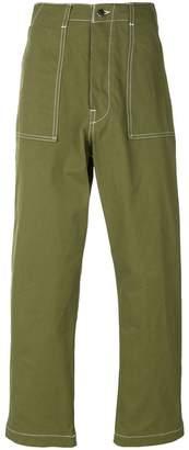 Societe Anonyme topstitch cargo pants