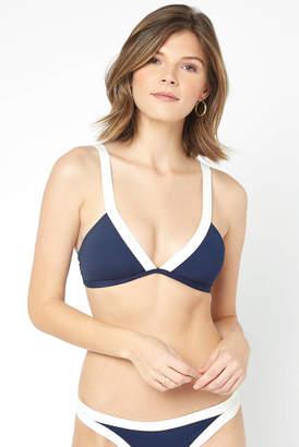 L-Space Farrah Midnight Color Block Bikini Top