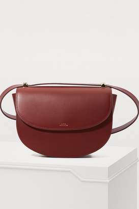 A.P.C. Leather Geneve shoulder bag