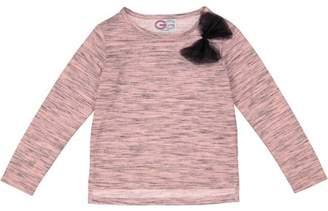 G-Cutee Toddler Girl-Heather Pink Bodysuit & Cat Leggings