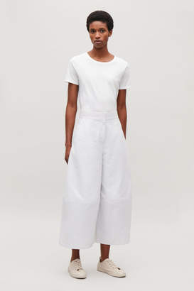 Cos CURVED WIDE-LEG TROUSERS