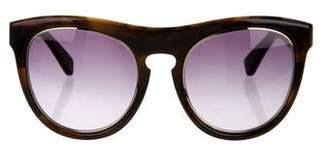 3.1 Phillip Lim Orbit Oversize Sunglasses