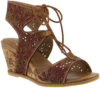 Spring Step L'Artiste by Leather Lace Up Shoes- Vannessa