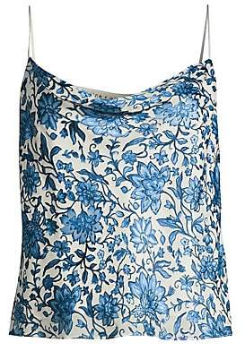 Alice + Olivia Women's Harmon Floral Silk-Blend Camisole