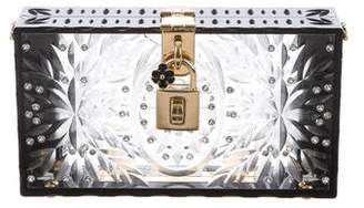 Dolce & Gabbana Embellished Box Clutch