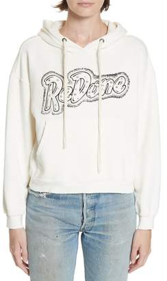 RE/DONE Doll Studded Logo Sweatshirt