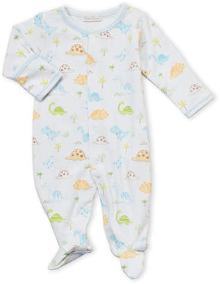Kissy Kissy Newborn Boys) Light Blue Dino Dudes Footie