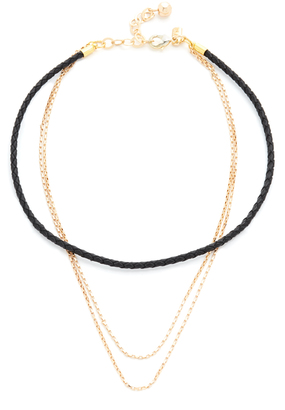 Vanessa Mooney The Devin Choker Necklace $45 thestylecure.com