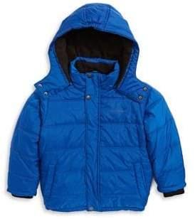 Calvin Klein Little Boy's Little Kid's Bubble Puffer Jacket