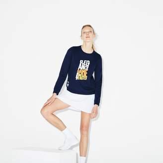 Lacoste Women's SPORT Roland Garros Edition Sweatshirt