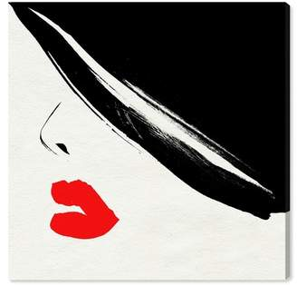 """Oliver Gal Gallery Retro for Red Canvas Print - 16\""""x16\"""""""