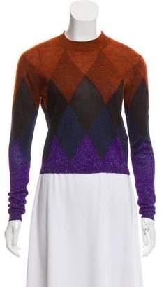 Marco De Vincenzo Geometric Pattern Lightweight Sweater