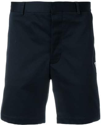 Moncler logo patch chino shorts