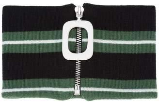 J.W.Anderson striped neckband
