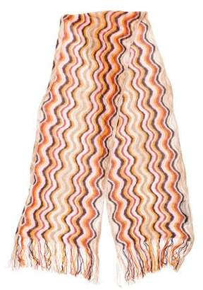 Missoni Pattern Open knit Scarf