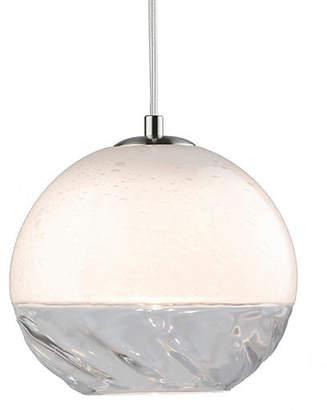 "Viz Glass 8"" Encalmo Pendant - Clear"