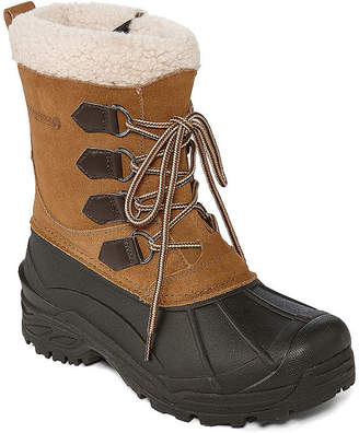 Weatherproof Mens Traverse 2 Water Resistant Insulated Winter Boots Lace-up