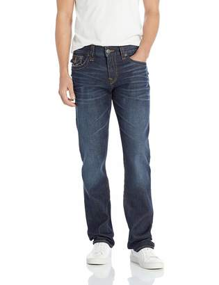 True Religion Men's Ricky Straight with Flap