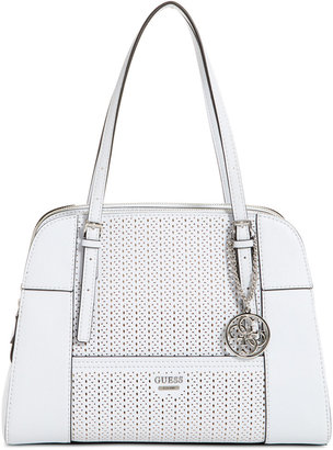 GUESS Huntley Cali Medium Satchel $118 thestylecure.com