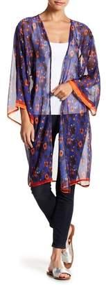 Bindya LULLA COLLECTION BY Lightweight Floral Print Kimono