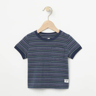 Roots Baby Striped Ringer Top