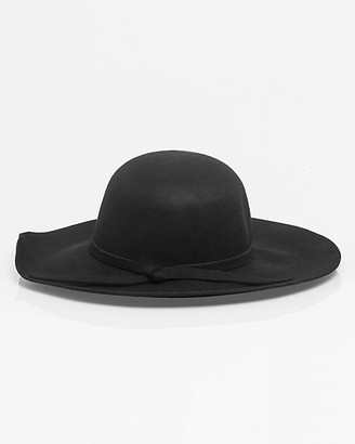 71b1fcac7164 Le Château Wool Wide Brim Floppy Hat