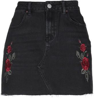 KENDALL + KYLIE Denim skirts - Item 42727687HW