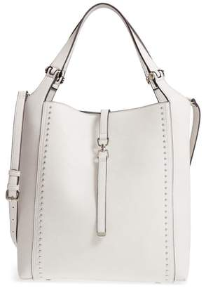 Sole Society Large Studded Faux Leather Tote