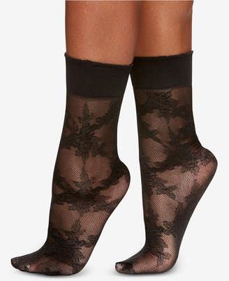 Berkshire Women Rose Floral Anklet Socks 5122