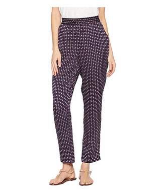 1 STATE 1.STATE Daisy Foulard Drawstring Soft Pants