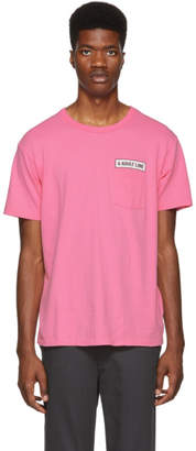 Bianca Chandon Pink Tom Bianchi Edition Adult Line Pocket T-Shirt