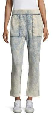 Rag & Bone Scout Tie-Dye Cut-Off Sweatpants