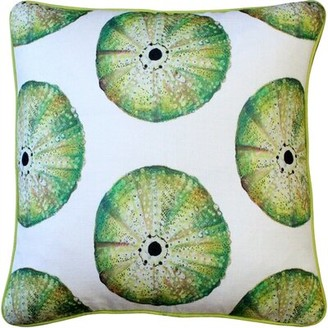 Rosecliff Heights Burnham Sea Urchin Large Scale Throw Pillow Rosecliff Heights