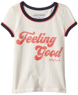 Lucky Brand Kids Evie Tee Girl's T Shirt