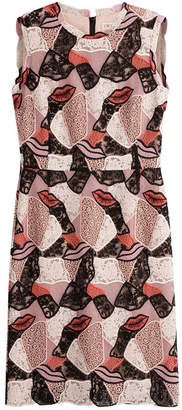 Emilio Pucci Dress with Embroidered Mesh