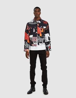 Calvin Klein Jeans Est. 1978 Trucker Jacket in Black Base