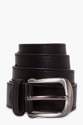 boohoo Curved Buckle Boyfriend Belt
