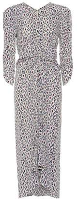 Isabel Marant Albi printed silk dress