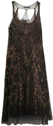 Jean Paul Gaultier Pre-Owned sequinned layered dress