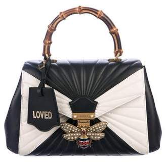 Gucci 2017 Queen Margaret Top Handle Bag w/ Tags