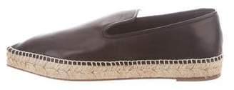 Celine 2017 Babouche Leather Espadrilles