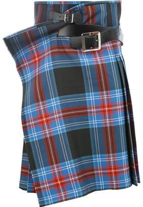 Charles Jeffrey Loverboy Wallace tartan skirt