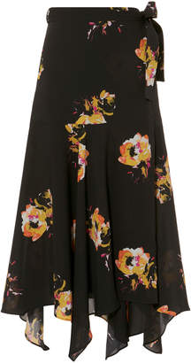 A.L.C. Borden Saffron Midi Skirt