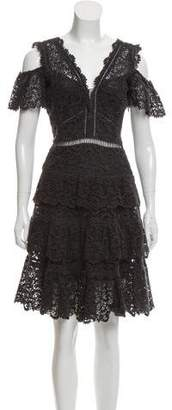 Rebecca Taylor Lace Mini Dress
