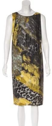 Alberta Ferretti Printed Midi Dress
