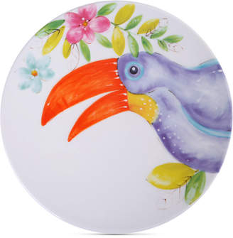 Laurie Gates Closeout! Toucan Dinner Plate, First at Macy's