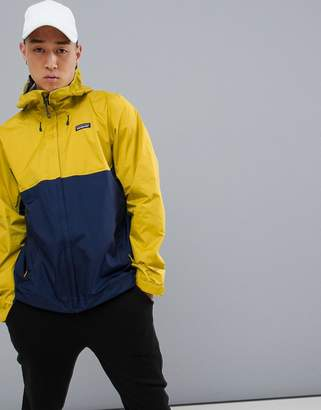 Patagonia Torrentshell Jacket in Yellow/Blue