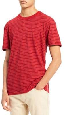 Calvin Klein Jeans Striped Crewneck Cotton Tee