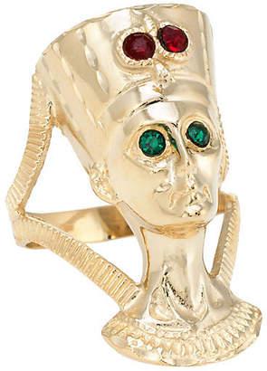 One Kings Lane Vintage 14K Gold Egyptian Nefertiti Bust Ring - Precious & Rare Pieces